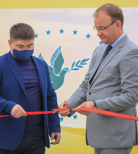 Grand opening of the «Zerno-Agro» elevator