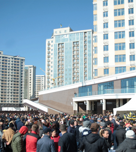 Opening of The 40th, 41th, 46th Pearls residential complexes